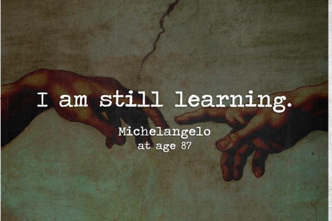 blijven leren